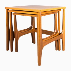 Vintage Teak Nesting Tables from Stonehill