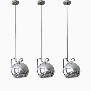 Lampe à Suspension par Goffredo Reggiani pour Reggiani, 1970, Set de 3