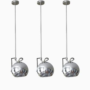 Suspension Lamps by Goffredo Reggiani for Reggiani, 1970, Set of 3