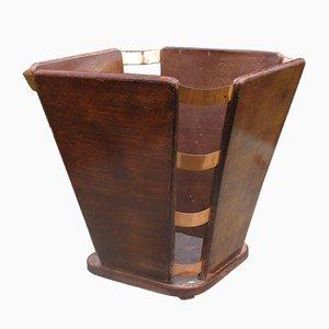 Vintage Paper Basket