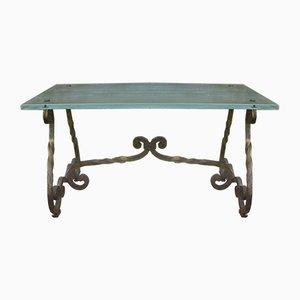 Tisch aus Gusseisen, 1940er