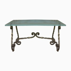 Wrought Iron Table, 1940s