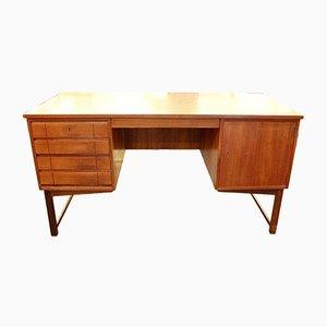 Vintage Schreibtisch aus Teak, 1970er