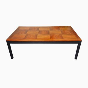 Mid-Century Norwegian Rosewood Coffee Table from Heggen