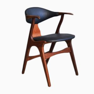Cow Horn Chair by Louis van Teeffelen for AWA, 1950s