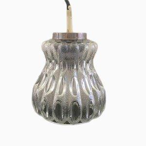 Lampe à Suspension Vintage en Verre