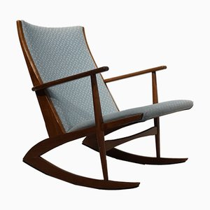 Rocking Chair par Holger Georg Jensen pour Kubus, 1950s