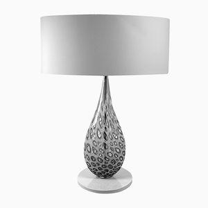Weiße Rete Tischlampe von Eros Raffael