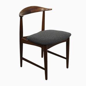 Teak Cowhorn Chair by Kurt Østervig, 1960s