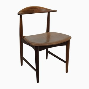 Cowhorn Stuhl aus Teak von Kurt Østervig, 1960er