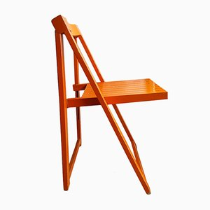 Mid-Century Folding Chair by Aldo Jacober for Alberto Bazzani, 1970s