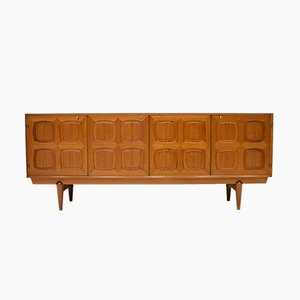 Graphic Teak Sideboard by Rastad & Relling for Gustav Bahus, 1960s