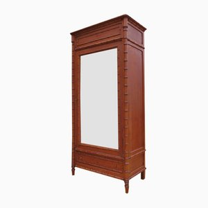 Antique Faux Bamboo Armoire