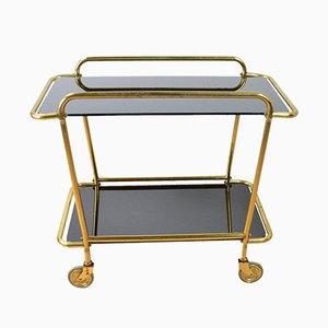 Mid-Century Glass Bar Cart, 1960s