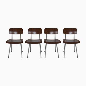 Result Stühle von Friso Kramer für Ahrend de Cirkel, 1967, 4er Set
