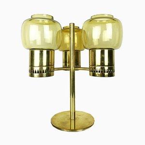 L67 Kerzenhalter aus Messing & Glas von Hans-Agne Jakobsson, 1960er