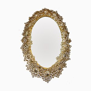 Illuminated Gilt Mirror from Palwa, 1970s