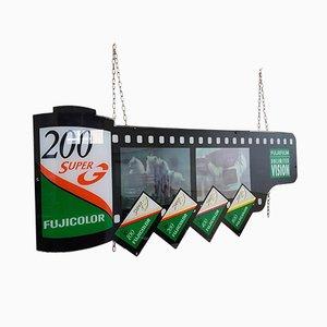 Vintage Fujifilm Fujicolor Werbetafel