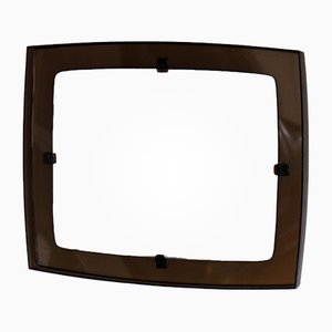 Smoked Plexiglas Mirror, 1970s