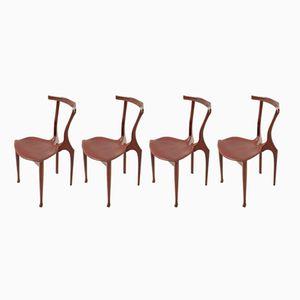 Gaulino Stühle von Oscar Tusquets für Carlos Jané, 1987, 4er Set