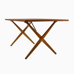 Tavolo da pranzo AT303 di Hans J. Wegner per Andreas Tuck, 1958