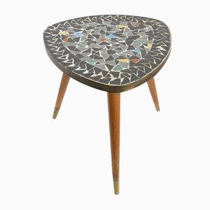 Tavolo Mid-Century a forma di fagiolo con mosaico, anni '50