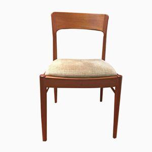 Vintage Danish Teak Chairs, Set of 6