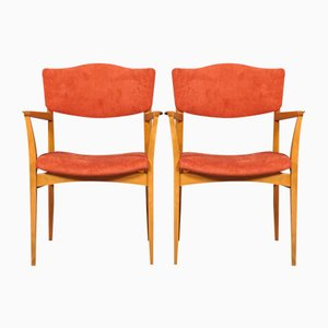 German Mid-Century Armchairs,1970s, Set of 2