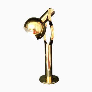 Mid-Century Tischlampe aus Messing von Staff, 1970er
