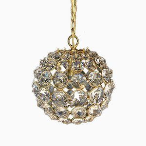 Crystal Ball Chandelier from Palwa, 1960s