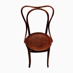 Sedia antica in legno curvato di Jacob & Josef Kohn