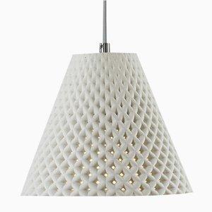 Lampada Helia bianca in calcestruzzo di Dror Kaspi per Ardoma Design