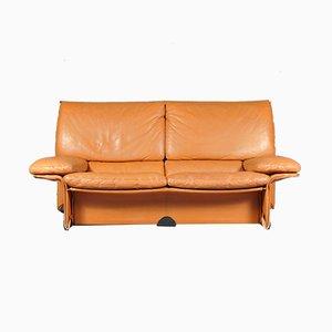 Albatros Leather Sofa by Titiana Ammannati & Giampiero Vitelli for Brunati, 1970s