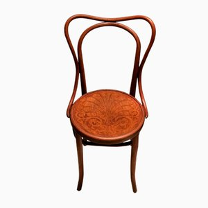 Antiker Stuhl aus Bugholz von Jacob & Josef Kohn