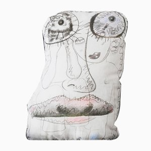 Funda de almohada de Bjarne Melgaard para Henzel Studio, 2014