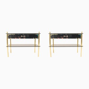 Tables de Chevet, 1970s, Set de 2