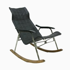 Foldable Rocking Chair by Takeshi Nii, 1960s