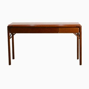 Mid-Century Teak Console Table or Desk, 1950s