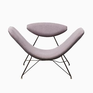 Reversible Chair by C Hauner & M Eisler for Forma Moveis, 1950s