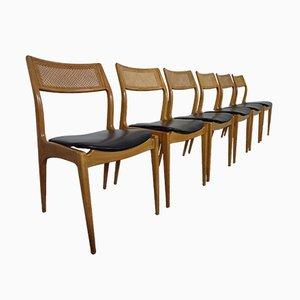 Chaises de Salle à Manger, Danemark, 1960s, Set de 6