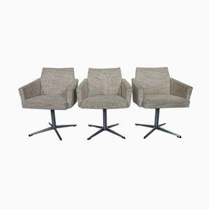 Danish Swivel Chairs, 1960s, Set of 3