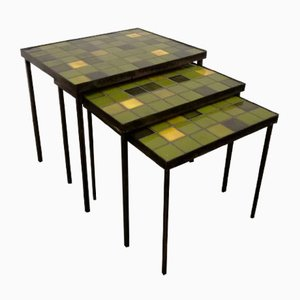 Mid-Century Nesting Tables by Mado Jolain