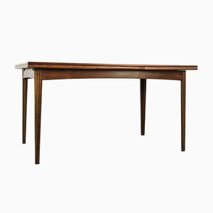 Danish Rosewood Extendable Table, 1960s