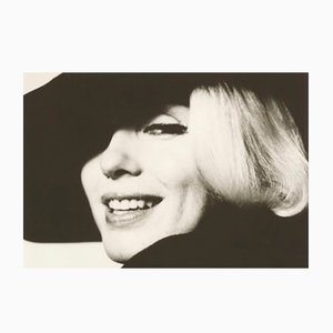 Marilyn with Hat Silver Gelatin Print by Bert Stern, 1995