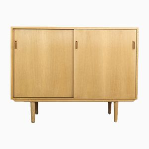 Small Oak Danish Sideboard from SKM, 1960s