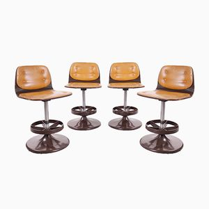 Bar Stools or Dining Chairs, 1960s, Set of 4