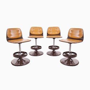 Barhocker oder Esszimmerstühle, 1960er, 4er Set