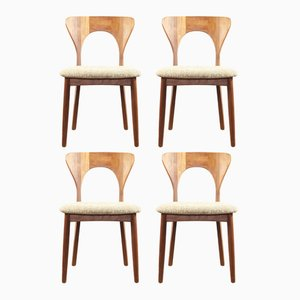 Vintage Peter Chairs by Niels Koefoed for Koefoeds Hornslet, Set of 4