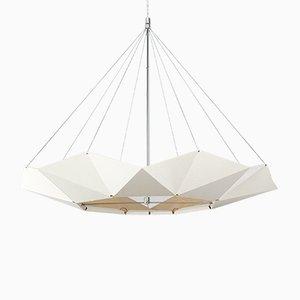 Lampe à Suspension Ajustable inMOOV Blanche par Studio Nina Lieven