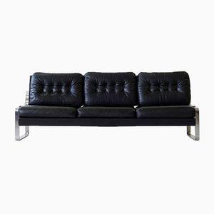3-Sitzer Tagesbett aus Leder von Kill International, 1960er